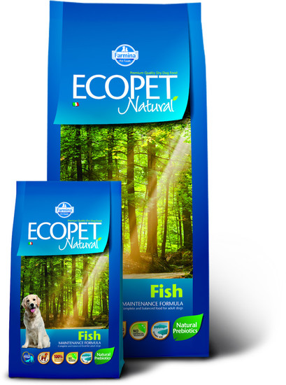 BRIETI ZA PSE ECOPET NATURAL FISH 2,5 kg RIBA
